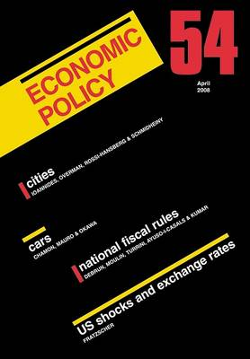 Economic Policy  54 by Georges De Menil