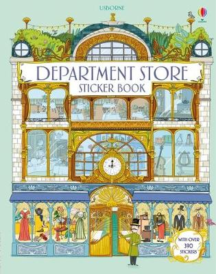 Doll's House Department Store Sticker Book book