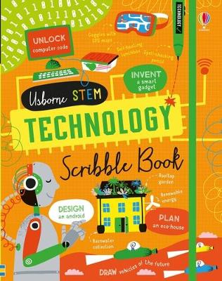 Technology Scribble Book by Alice James