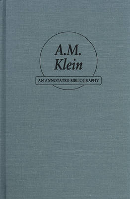 A.M.Klein by etc.