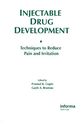 Injectable Drug Development book