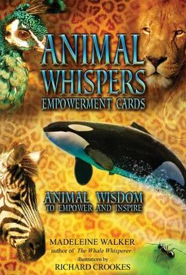 Animal Whispers Empowerment Cards: Animal Wisdom to Empower and Inspire by Madeline Walker