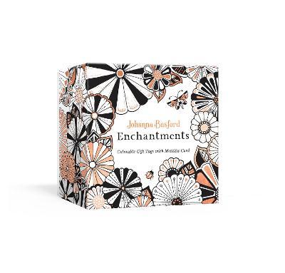 Johanna Basford Enchantments: Colorable Gift Tags with Metallic Cord by Johanna Basford