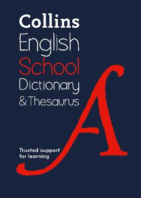 Collins School Dictionary & Thesaurus book