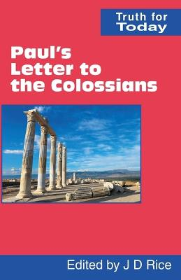 Paul's Letter to the Colossians by George E. Stevens