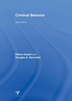 Criminal Behavior by Elaine Cassel