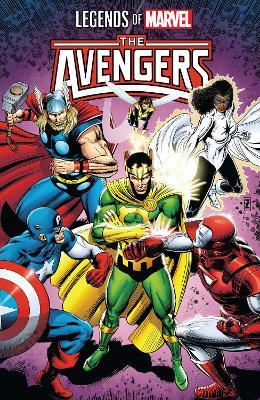 Legends Of Marvel: Avengers by Peter David