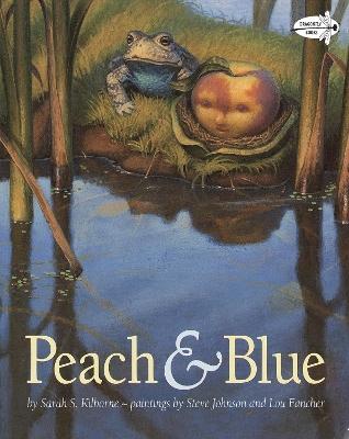 Peach And Blue by Sarah Kilborne