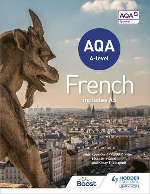 AQA A-level French (includes AS) by Rod Hares