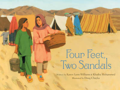 Four Feet, Two Sandals book