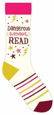 Dangerous Women Read Socks by Gibbs Smith Publisher
