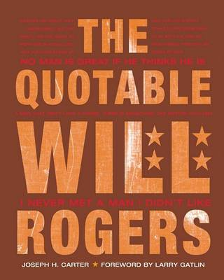 Quotable Will Rogers book