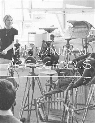 London Art Schools, The by Nigel Llewellyn