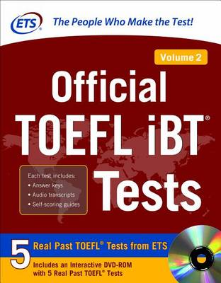 Official TOEFL iBT (R) Tests Volume 2 by Educational Testing Service