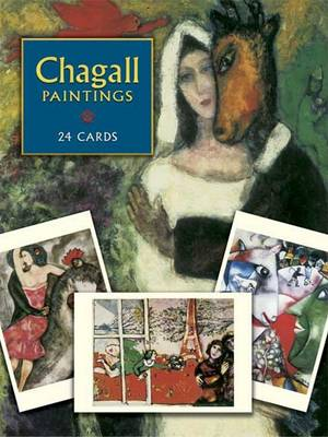 Chagall Postcards by Marc Chagall