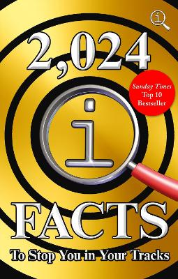 2,024 QI Facts To Stop You In Your Tracks book