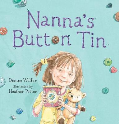 Nanna's Button Tin by Dianne Wolfer