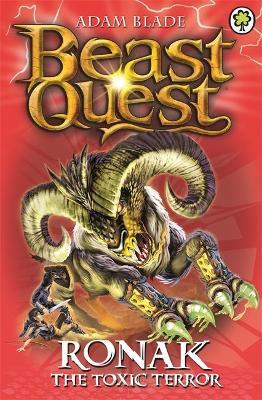 Beast Quest: Ronak the Toxic Terror by Adam Blade