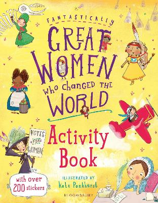 Fantastically Great Women Who Changed the World Activity Book by Kate Pankhurst