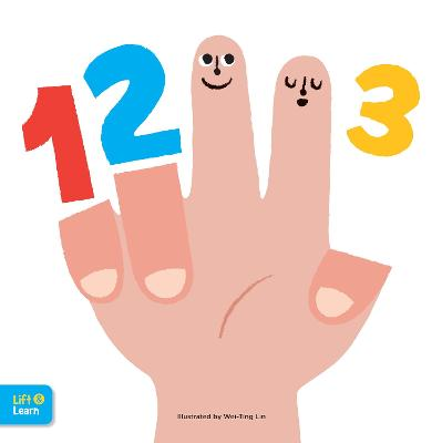 123 Lift & Learn: Interactive flaps reveal basic concepts for toddlers by Walter Foster Jr. Creative Team