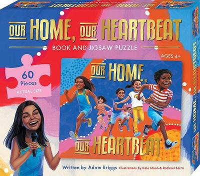 Our Home, Our Heartbeat Book and Puzzle Set by Adam Briggs