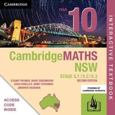 Cambridge Maths Stage 5 NSW Year 10 5.1/5.2/5.3 Digital (Card) by Stuart Palmer