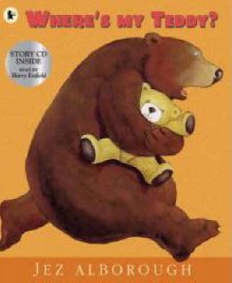 Where's My Teddy? Pbk With Cd by Alborough Jez