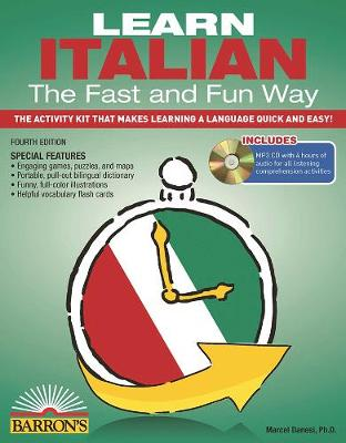 Learn Italian the Fast and Fun Way with MP3 CD by Marcel Danesi