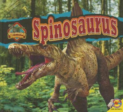 Spinosaurus by Aaron Carr