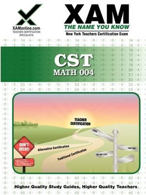 CST Math 004 by Sharon A Wynne