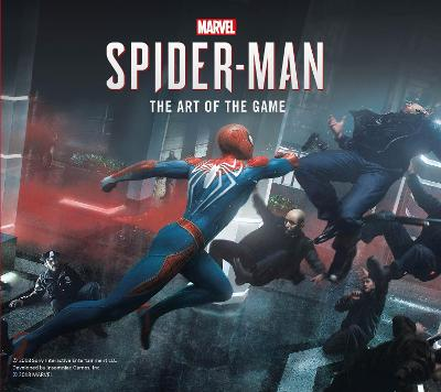 Marvel's Spider-Man: The Art of the Game by Paul Davies