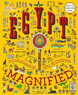 Egypt Magnified: With a 3x Magnifying Glass by David Long