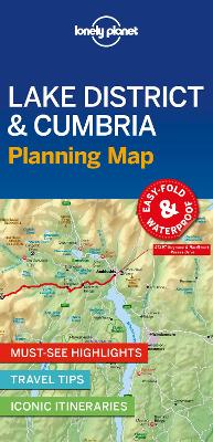Lonely Planet Lake District & Cumbria Planning Map by Lonely Planet