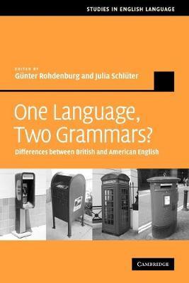 One Language, Two Grammars? by Gunter Rohdenburg