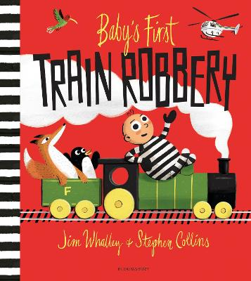 Baby's First Train Robbery book
