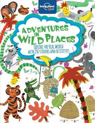 Adventures in Wild Places, Activities and Sticker Books book