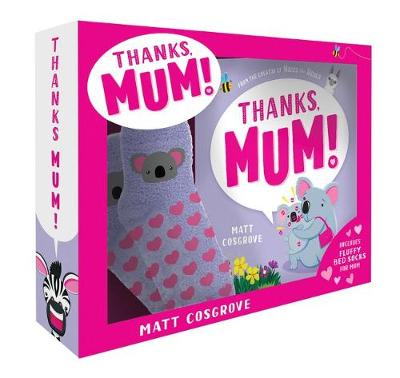 Thanks, Mum! Box Set with Bed Socks by Matt Cosgrove