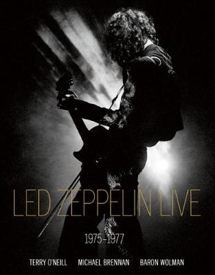 Led Zeppelin Live by Iconic Images