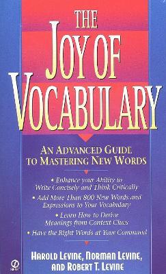 Joy of Vocabulary book
