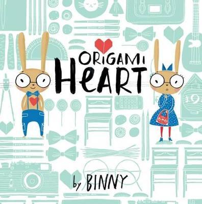 Origami Heart book
