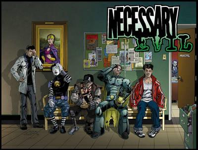 Necessary Evil  v. 1 by Joshua Williamson