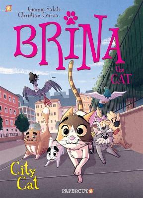 Brina the Cat #2: City Cat by Giorgio Salati