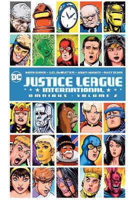 Justice League International Omnibus Volume 2 book