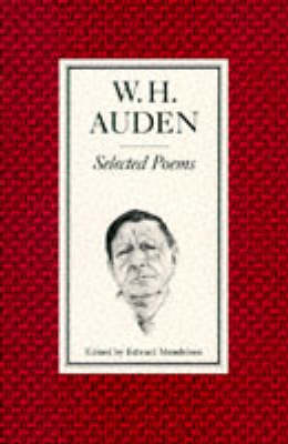 Selected Poems by W H Auden