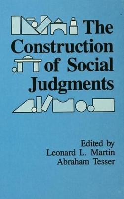 Construction of Social Judgments book