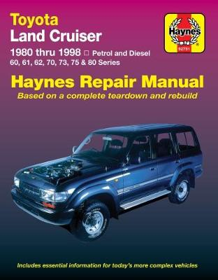 HM Toyota Land Cruiser D&P 1980-1998 by Haynes