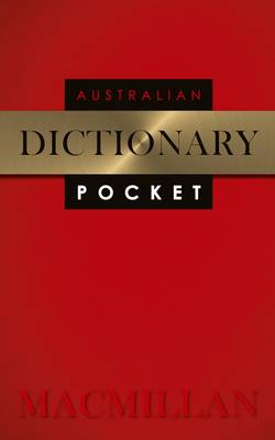 Macmillan Australian Pocket Dictionary by Macmillan