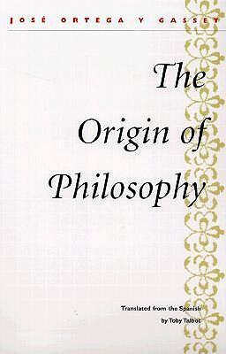 Origin of Philosophy book