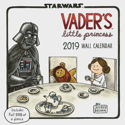 2019 Wall Calendar: Vader's Little Princess by Jeffrey Brown