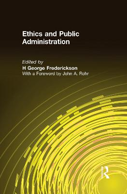 Ethics and Public Administration book